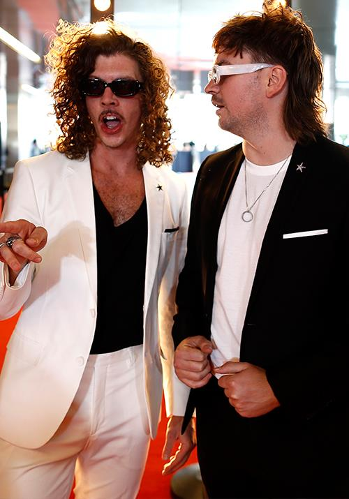 The talented lads of Peking Duk, Reuben Styles and Adam Hyde, look ready to part-ay.