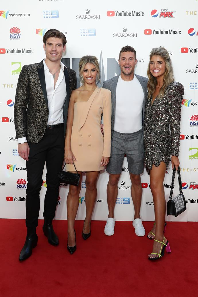 The *Love Island* top four slayed at the 2019 Aria Awards.
