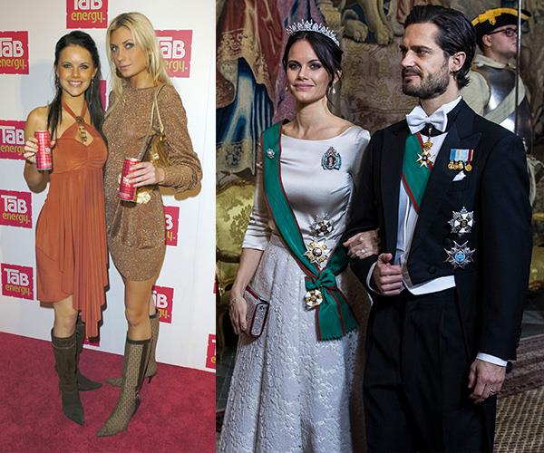 From glamour model to glamorous princess.