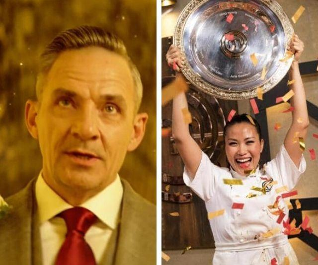 Former lovers! New groom Steve formerly dated 2018's *MasterChef* winner, Diana Chan.