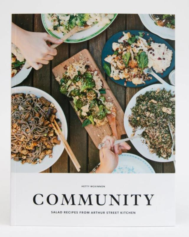 "***Community* by Hetty McKinnon** <br><br> Australian cook Hetty McKinnon founded Sydney's Arthur Street Kitchen in 2012, well before Uber Eats was officially a thing, driving around delicious, fresh salads to busy office workers on her bicycle.  <br><br> Now, she's created a whole brand off the back of her genius salad recipes - she's now dubbed the ""salad queen"" - and this cookbook features deliciously hearty salad recipes that will impress even the biggest salad skeptics.  <br><br> $28.50 from [Booktopia](https://www.booktopia.com.au/community-hetty-mckinnon/book/9781743530405.html?source=pla&gclid=Cj0KCQiA2vjuBRCqARIsAJL5a-JYE7p2d80envdPVGpdPII7iKf8UCcBCq6h_GFQbHx6renMt6BoDSoaAglWEALw_wcB