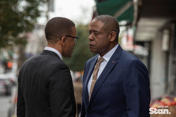 Forrest Whittaker stars in *Godfather Of Harlem*.