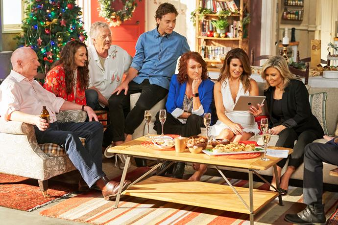 The cast of Home and Away invite us in to their living rooms.