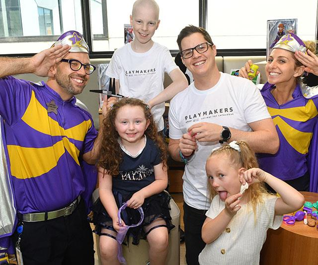 As an Amazon Playmakers ambassador, Johnny is helping to raise money for the Starlight Children's Foundation.