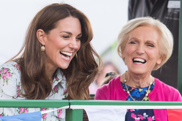 Kate and Mary Berry stepped out together in September for an event at the RHS Garden Wisley.