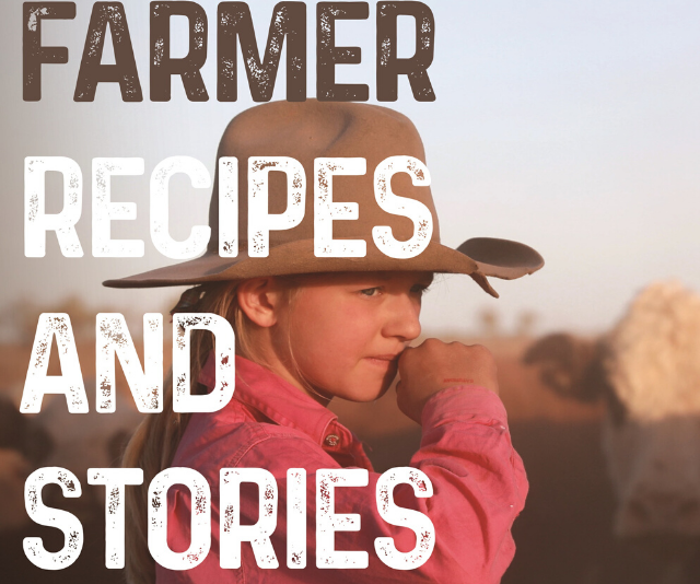All funds raised from the sale of *Farmer Cookbook* go directly to Rural Aid.