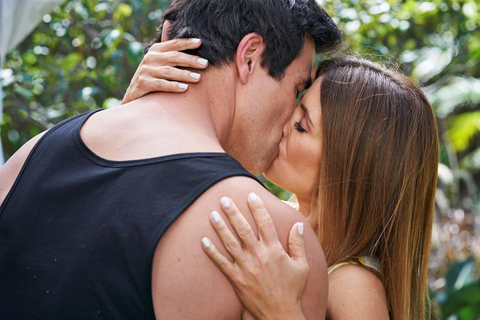 **JUSTIN AND LEAH FALL IN LOVE** <br><br> With his brother's affair causing tension in the family, Justin (James Stewart) turned to Leah (Ada Nicodemou) for advice. Their friendship soon grew and they shared a steamy kiss. They tried to keep their fling under wraps, but in a small town like Summer Bay, people talk!