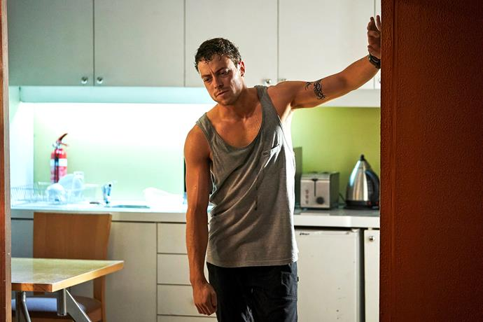 **DEAN COLLAPSES** <br><br> After aiding in the murder of Ross, Dean struggled to move on. In order to sleep, he turned to pills. When his addiction became known to Colby and Willow, their plans for a rapid detox backfired and put him in grave danger. Jasmine (Sam Frost) arrived just in time to save his life.