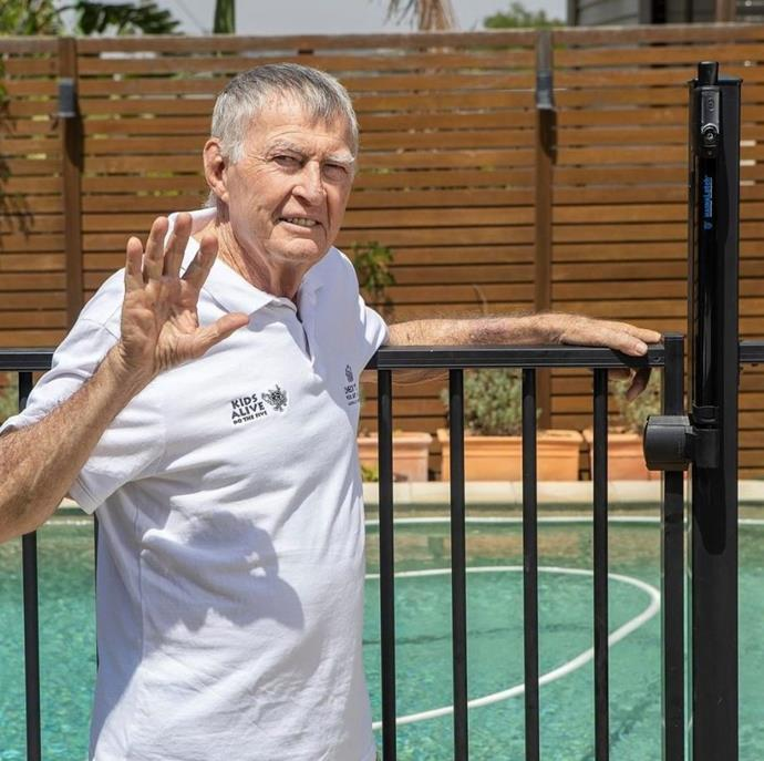 Pool safety advocate, Laurie Lawrence ureged pool owners to check their gates.