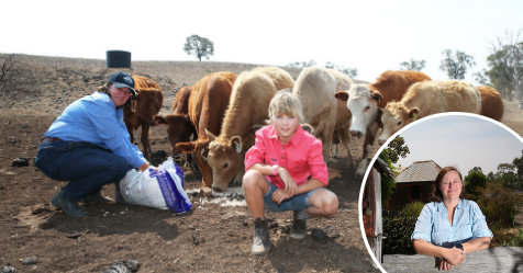 How an Aussie farmer went from drought hero to social media star | Woman's Day
