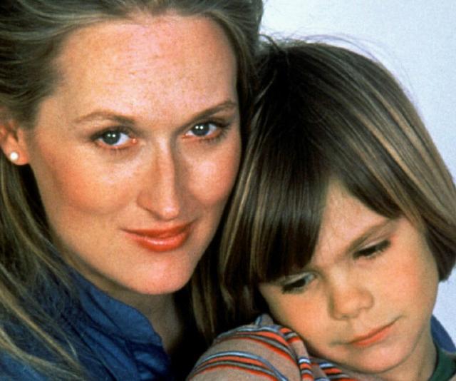 In *Kramer vs Kramer*, Meryl Streep plays a mother going through a divorce.
