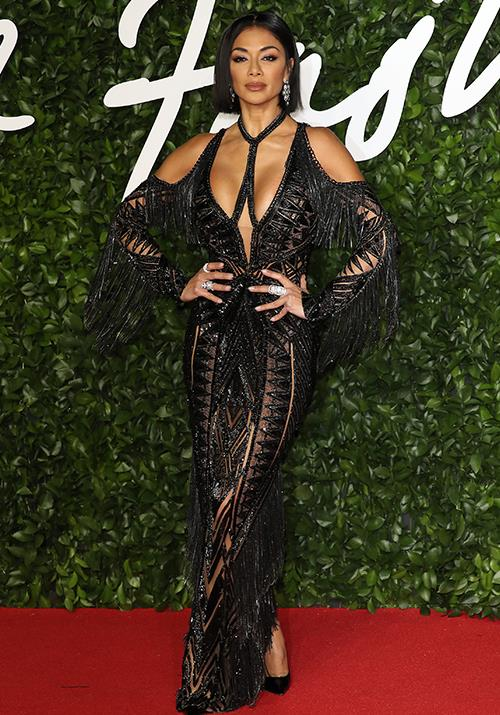 The cut-out trend is questionable at the best of times, but Pussycat Dolls singer Nicole Scherzinger rocked it like no other.