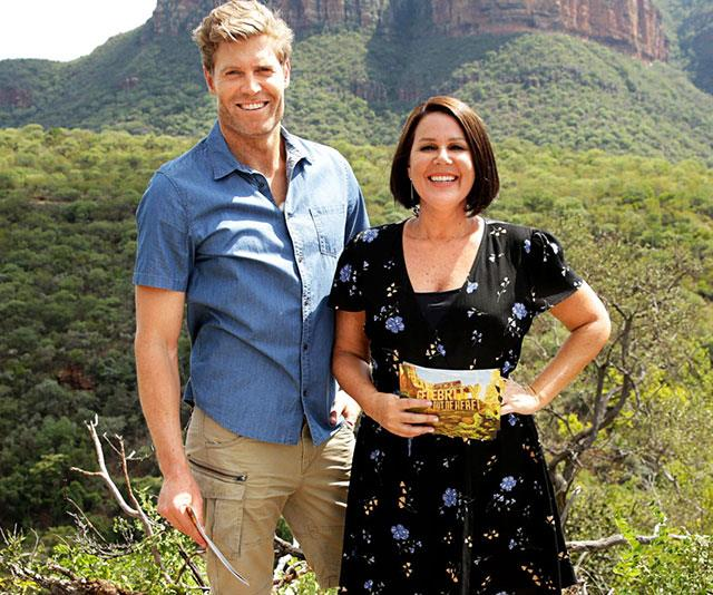 Dr Chris Brown and Julia Morris are back to host *I'm A Celeb's* sixth season.