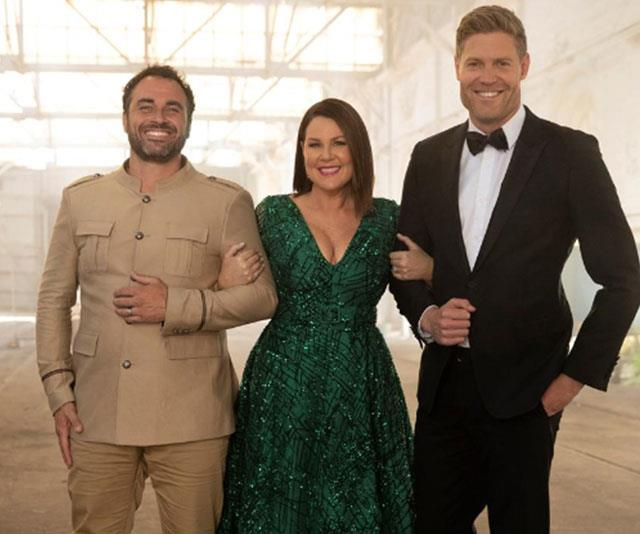 Miguel Maestre (pictured with hosts Julia Morris and Dr Chris Brown) is the first celebrity officially confirmed.