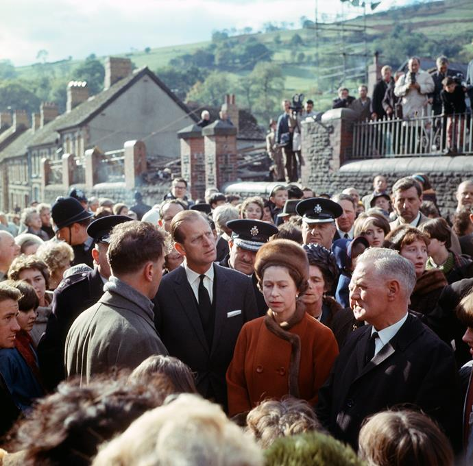The Queen was deeply impacted by the magnitude of the Aberfan disaster.
