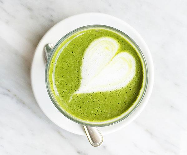 Boost your metabolism with matcha.