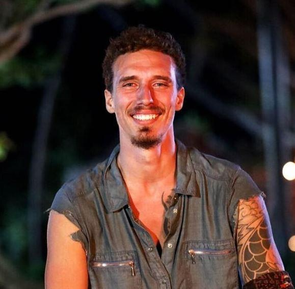 Luke became a fan favourite on *Survivor* and came in fourth place.
