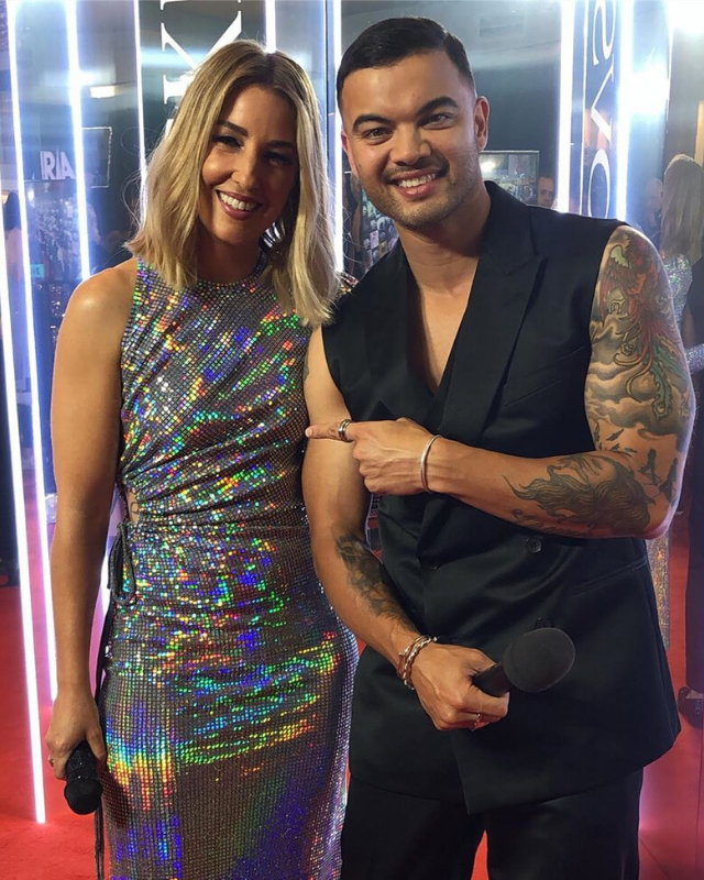 The hot couple at the 2019 ARIA Awards last week.