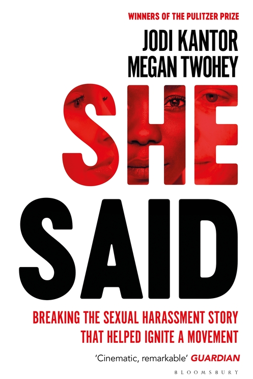 ***She Said* by Jodi Kantor & Megan Twohey**  <br><br> A testament to the power of dogged journalism. This is the untold story of how the Harvey Weinstein scandal was uncovered one celebrity at a time.