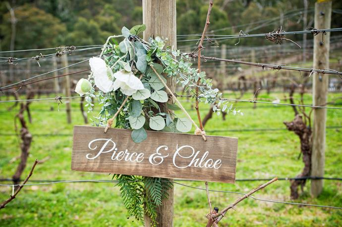 """Welcome to the wedding of the year!  <br><br> """"We filmed on a winery and it was abolutely freezing,"""" April Rose reveals of the stunning location."""