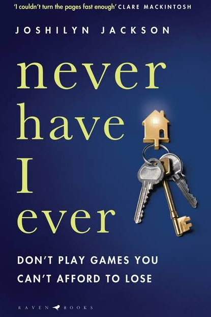 ***Never Have I Ever* by Joshilyn Jackson** <br><br> When newcomer Angelica Roux arrives at Amy Whey's book club night, their lives take a sharp turn. Roux – as she prefers to be called – takes over the evening and initiates a seemingly innocuous game of 'Never Have I Ever', which turns out to be a rather dangerous take on Truth or Dare.  <br><br> Now Roux is in control and as the plot unfolds, it's clear she knows something serious the book club hostess has been hiding from the suburban neighbourhood.
