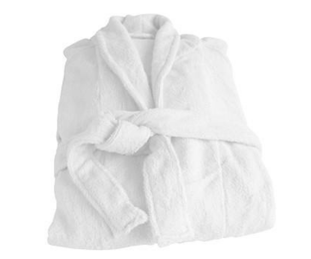 **Organic Bamboo and Cotton White Bathrobe, RRP $59.00:** Nothing like getting those holiday feels at home, and this luxe bathrobe will have it's wearer feeling like they just stepped out of a gilded bathroom at their favourite resort. There'll be no talk of regifting when this gift gets ripped open on Christmas morning.