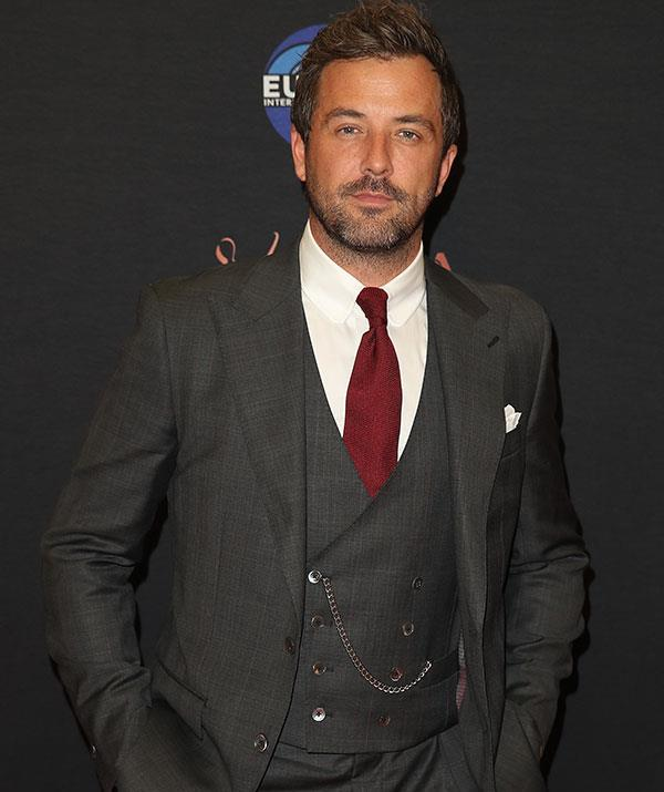 *Seachange's* Darren McMullen looked dapper as he stepped out and posed at the media wall.