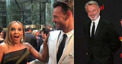 Angie Kent's X-rated comment after seeing Sam Neill at the 2019 AACTA Awards | Now To Love