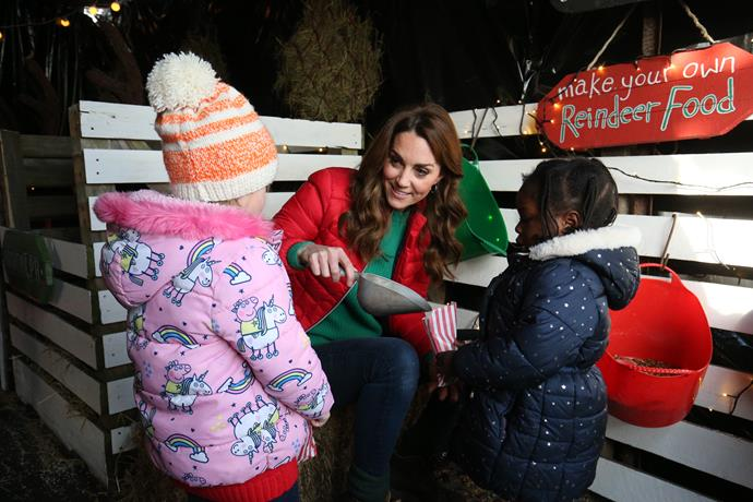 Much of the Duchess's work is focused on helping young children.
