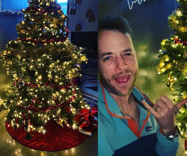 "**Hamish Blake** <br><br> ""Our fake Christmas tree comes in four parts. I put it together,""  comedian Hamish Blake wrote of his hilarious attempt to put up a tree. ""You are meant to put the big tree segments on the bottom and the small ones on the top. Those are ""the rules"". My wife has tonight noticed I have not played by the rules. It has been up for 3 days. She would like it changed. But I do not have time for rules. I am buying water pistols online and doing shakas. I am fun to live with."""