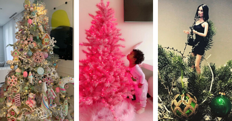 Every celebrity Christmas tree in 2019 revealed | Now To Love