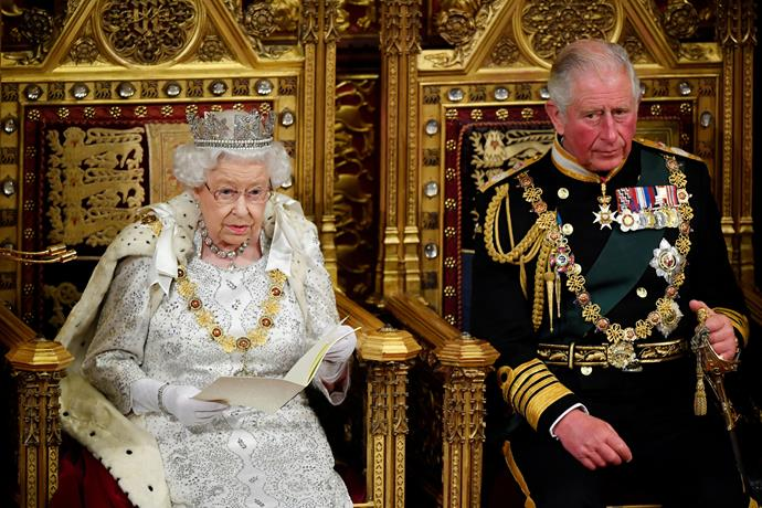 There is renewed speculation the Queen may give up the throne for Prince Charles at age 95.