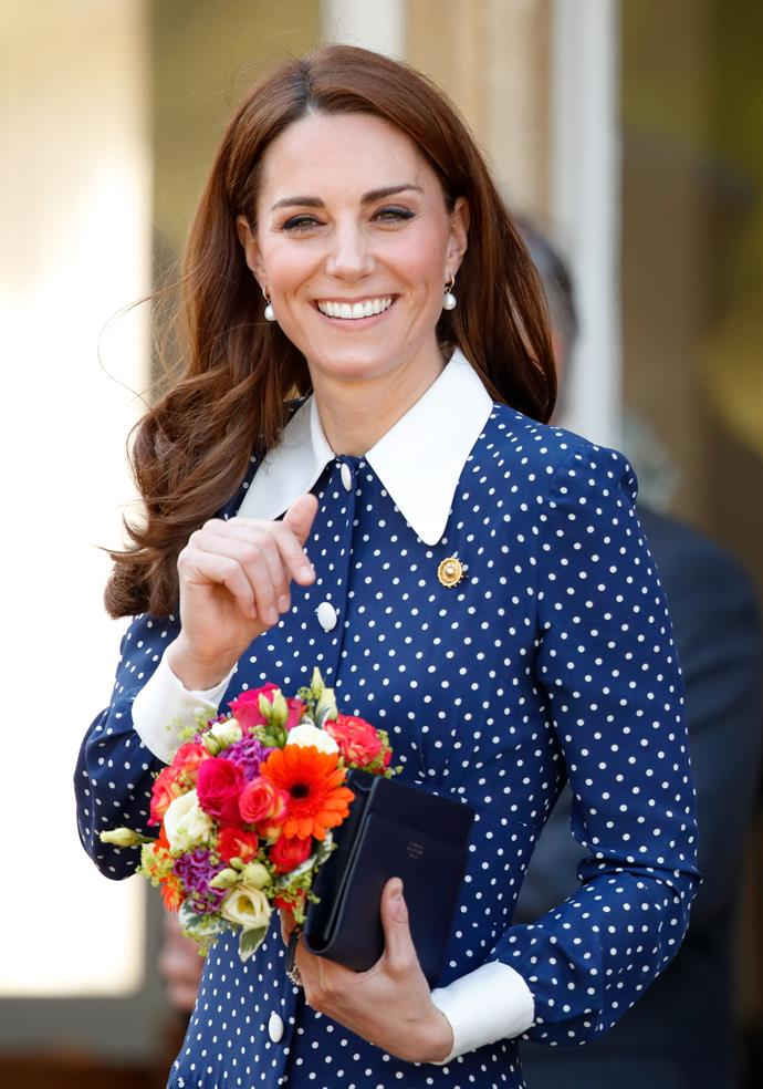 Duchess Catherine appears to have a go-to earring for some of her most special moments.