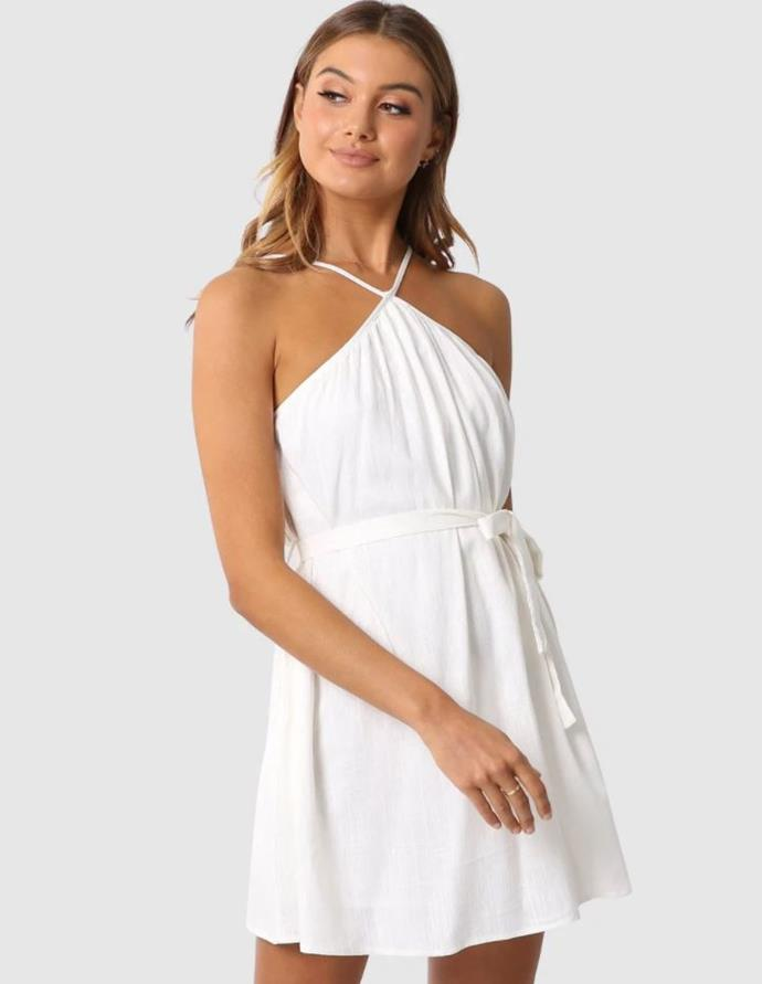 """Madison the Label hailey dress, $89.95. [Buy it online via The Iconic here](https://www.theiconic.com.au/hailey-dress-1007419.html