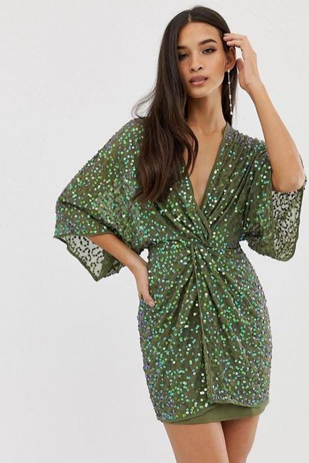 "ASOS Design scatter sequin knot front kimono mini dress, $130. [Buy it online here](https://www.asos.com/au/asos-design/asos-design-scatter-sequin-knot-front-kimono-mini-dress/prd/11392292|target=""_blank""|rel=""nofollow"")."