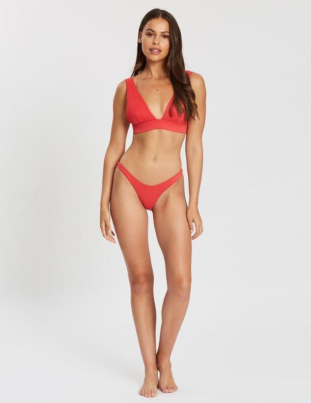 """Endless starcrossed high triangle bikini top, $34.99. [Buy it online via The Iconic here](https://www.theiconic.com.au/starcrossed-high-triangle-bikini-top-924598.html