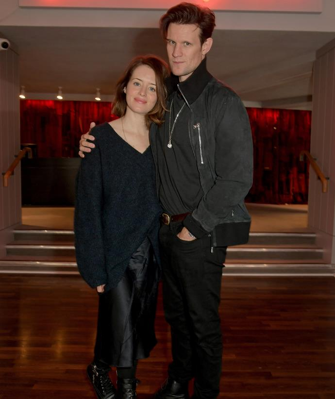 Co-stars Matt Smith and Claire Foy are rumoured to be dating.
