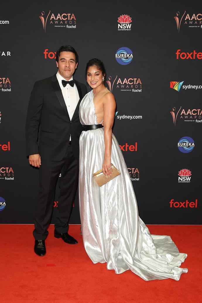The *Home and Away* stars looked so in love as they walked the red carpet at the 2019 AACTA Awards.