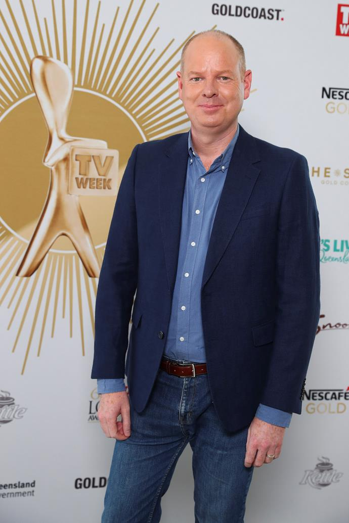 Tom Gleeson won the *TV WEEK* Gold Logie Award in 2019.