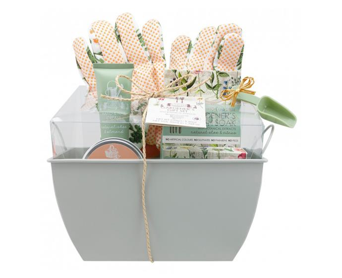 """**Ecopure Gardener's Gift Set, $25 at [Priceline](https://www.priceline.com.au/ecopure-gardener-s-gift-set-5-piece