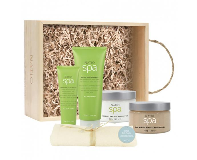 """**Natio Ritual Gift Set, $49.95 at [Priceline](https://www.priceline.com.au/natio-ritual-gift-set-5-piece
