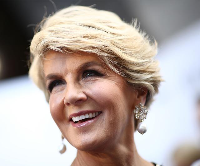 Julie Bishop is the ultimate example of how to age gracefully.