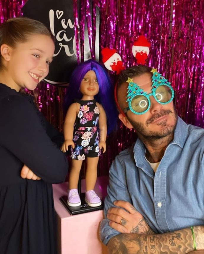 David Beckham is putting the silly into Silly Season!
