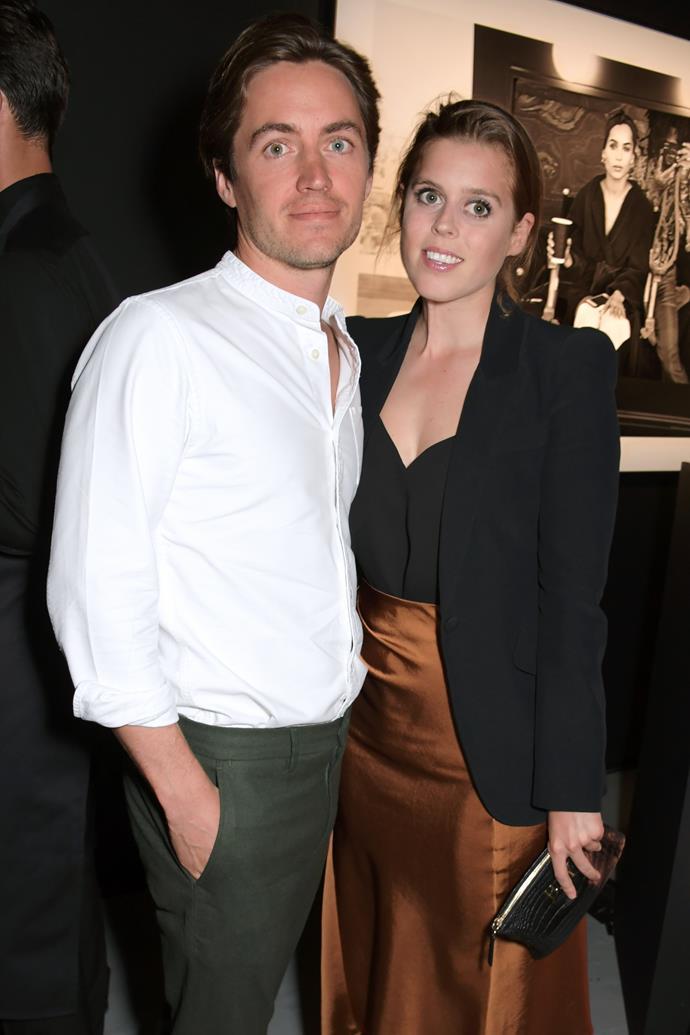 Princess Beatrice and fiancee Edoardo Mapelli Mozzi announced their engagement in September 2019.