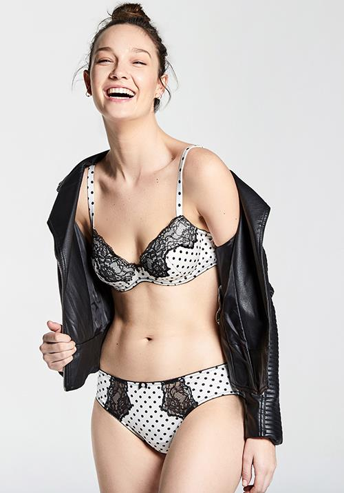 A second, more playful underwear collection also widens the pickings.