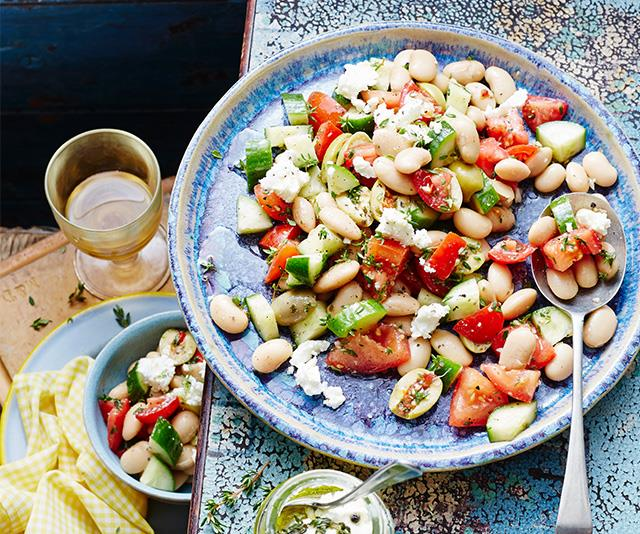 The Mediterranean diet is packed full of legumes and wholegrains.