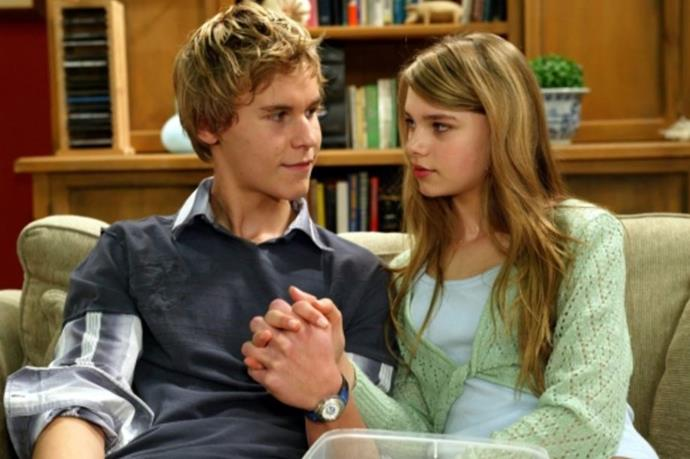 If you watched *Home and Away* in 2006, you'll undoubtedly have been utterly thrilled to know actors Maddie (Indiana Evans) and Lucas (Rhys Wakefield) were reportedly together IRL. Seriously, this OG couple were the Ryan and Marissa of Aussie television. Those were the days!