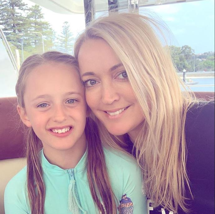 """Proud mum Jackie shared a sweet tribute for her daughter's ninth birthday. """"Happy 9th birthday kitty. So proud of the girl you are today, full of kindness and compassion for everyone around you. Love you so much,"""" she captioned her Instagram post."""