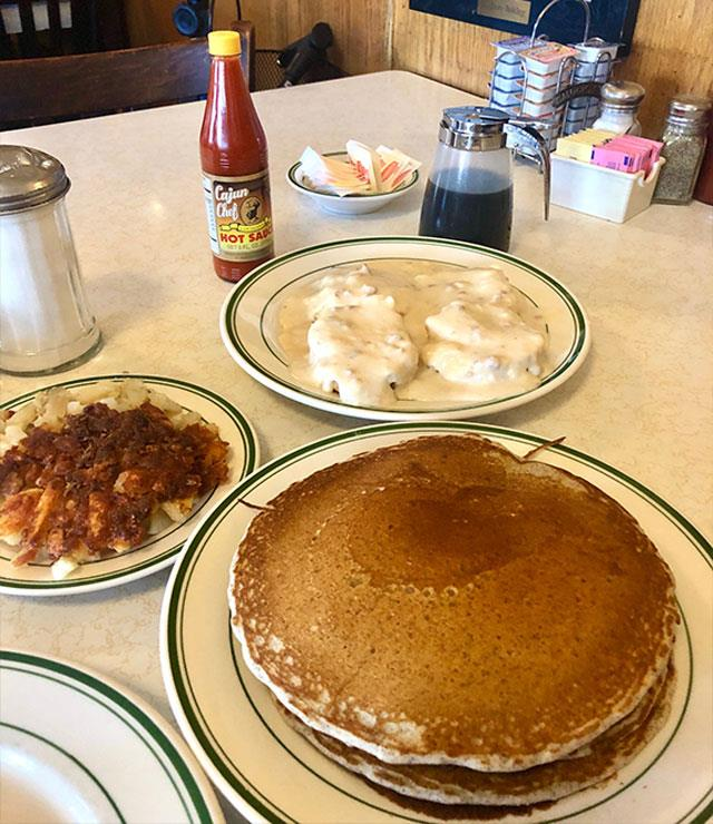 No avo on toast here. The Original Pantry plates up true old-style diner fare - bring your appetite.