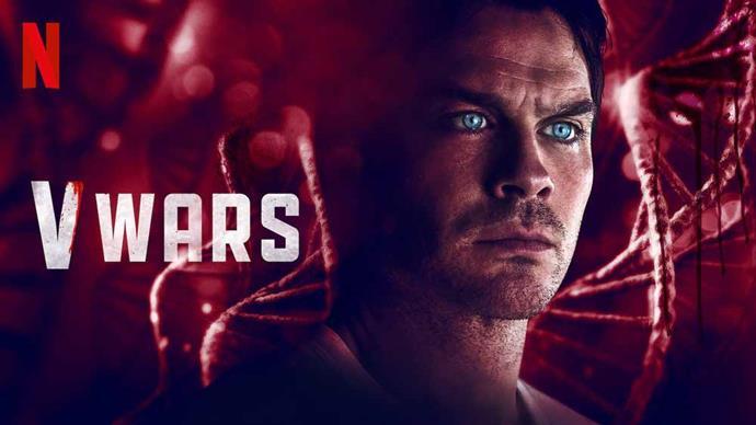 Ian's latest role in V Wars on Netflix.